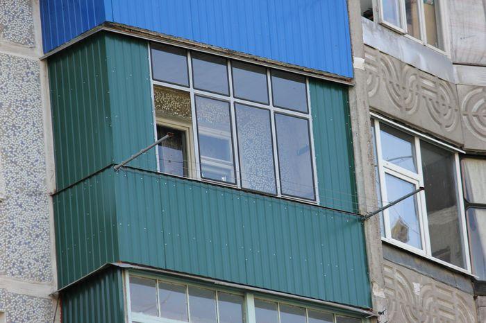 Алюминиевые рамы на балкон своими руками.